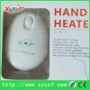heating hand pad 1800mAH li battery hand warmer with CE & ROHS best gift for Christmas