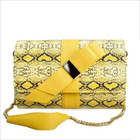 Fashion snake skin handbags ladies handbags