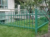 coated lawn fence