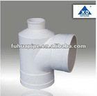 pvc drainage pipe fittings pvc bottle tee
