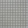 glazed white ceramic mosaic tiles