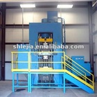 Powder hydraulic press 500 tons