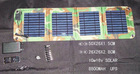 High Transfer Efficiency 10Wp Portable Folding Solar Charger for cell phone and laptop with CE & RoHS