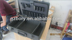 Black Anodized Aluminum tool case with pallet