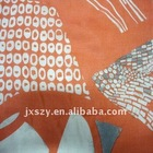 9MM printed pure silk cotton blend fabrics