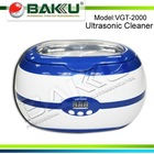 VGT 2000 Ultrasonic Cleaner with transparent top cap
