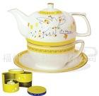 ceramic tea pot with lid