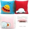 Colorful Cartoon children soft cushion