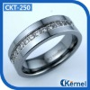 CZ tungsten carbide rings (best to express love)