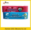Cartoon Smurfs silicone braclet for kids