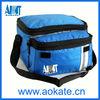 Outdoors partable blue cooler bag