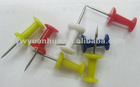 Plastic push pin for office