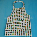 Canvas cobblestone Printed Apron Fabric with Pocket