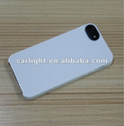 of Soft TPU + Hard PC plastic material for iphone 4s case