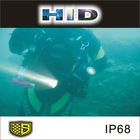 HID marine waterproof searchlight