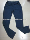 2012 newest fashion design women's solid viscose jean stylish pants