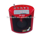 DS-002 Hot selling Portable FM radio laptop mini digital speaker