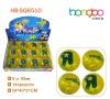 Printing Glitter led water ball/bouncy ball/flashing glitter water high bouncing ball