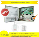 Two years warranty!Business GSM+PSTN laser light outdoor security system with beam detector