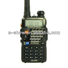 UHF VHF Dual Band 5W 128CH Two-Way Radio transceiver Walkie Talkie UV-5RE Latest uv-5r