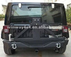 STEEL REAR BUMPER FOR JEEP JK WRANGLER