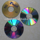 Blank CD-R DVD-R with printing on disc surface