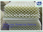 Plastic honeycomb monolith packing