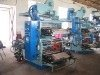 2 colors stacking type flexo printers off-line