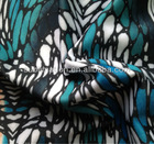 Stretch Polyester Spandex sublimation print heat transfer fabric