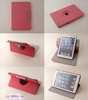 for book style with stand ipad rotatory case