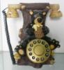 Decorated telephone