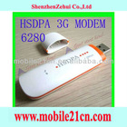 New White Wireless 3G GPRS USB Modem HSDPA 7.2mbps Network Tablet PC