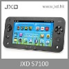 "JXD-S7100 MID popular simulator android games with 7"" capacitive touch"