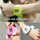 Hot fashion silicone interchangeable band watch