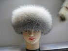2012 women fashionable genuine fox fur hat