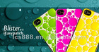 new design 3D reliefs Series blister design skin stickers for iphone 4/4s