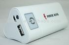 High quality mobile phone power bank 6600mAh