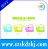 2012 hot sale novelty snails mini fans usb