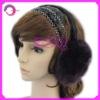Knitted earmuff hat pattern RQ-E07
