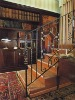 iron staircase / interior stair / elegant iron staircase