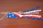polyester United States july 4 windsock, American july 4 wind sock, wind cone, wind sleeve, wind sack