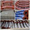 Mineral Pneumatic Ceramic liner pipe