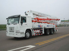HOWO Chassis trucks with 39m boom