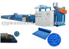 ^Plastic mat machine: SPVC/PVC door mat extrusion line