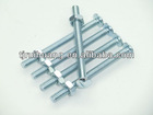 Roofing screw with hex nut