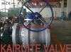flanged floating cast steel ball valve