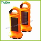super bright small led solar camping hand lamp