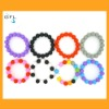 fashion jewelry candy silicone beads for bracelets