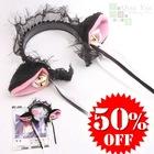 Black cat ear headwear D (in pomotion)