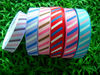 25MM Grosgrain ribbon stripe printed